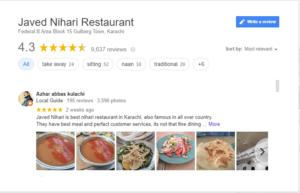 javed nihari reviews