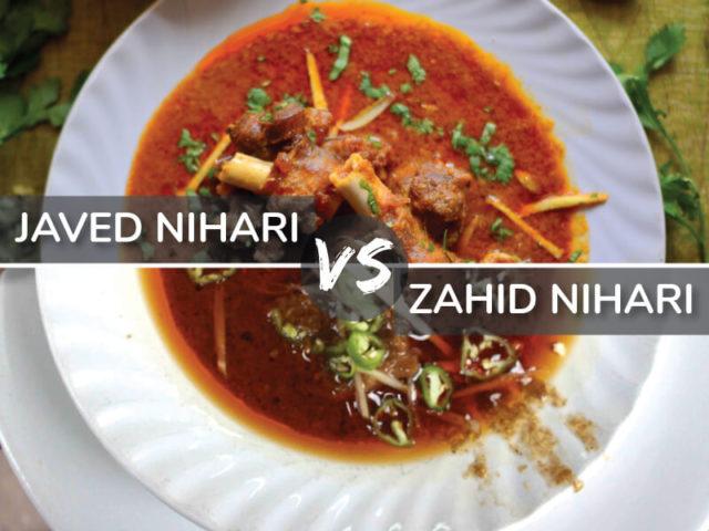 zahid nihari vs javed nihari